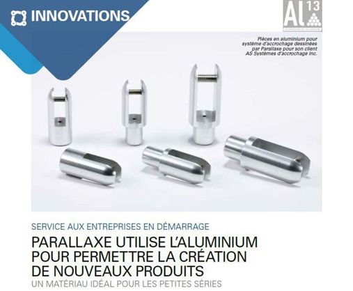 Parallaxe is featured in Al13 Aluminum Magazine